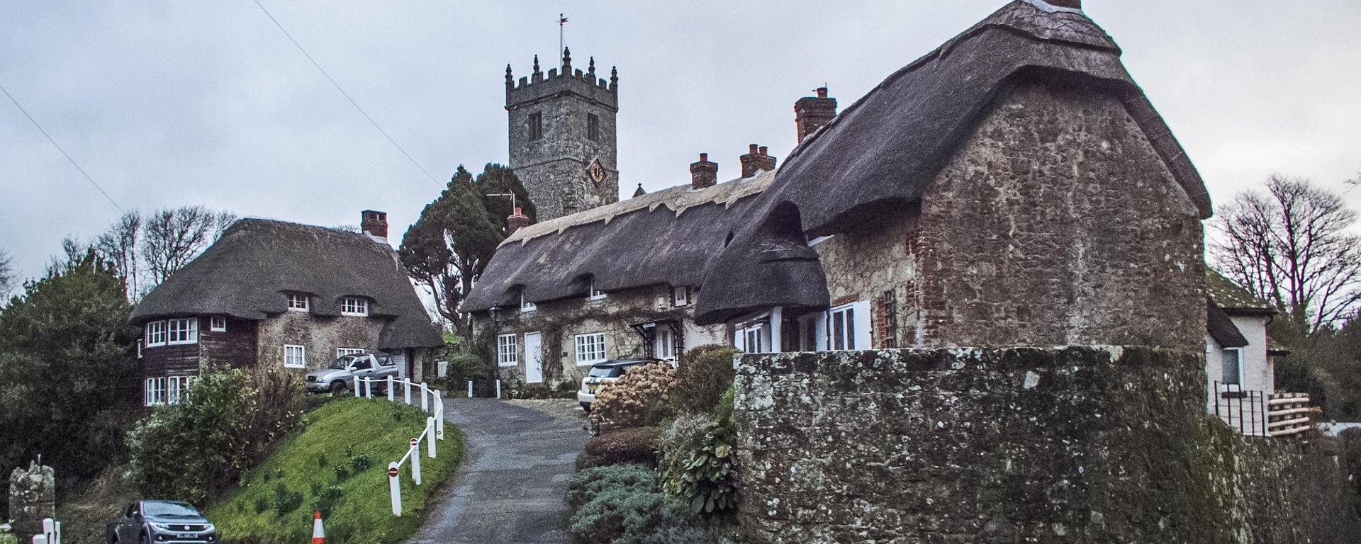 Cottages and Church